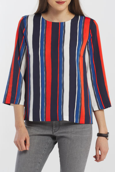 ING GANT D1. PREPPY STRIPE RELAXED TOP
