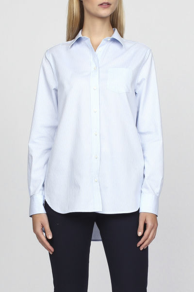 Ing GANT O1. STRIPED LONG SHIRT