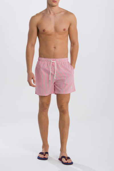 FÜRDŐRUHA GANT SEERSUCKER SWIM SHORTS CLASSIC FIT