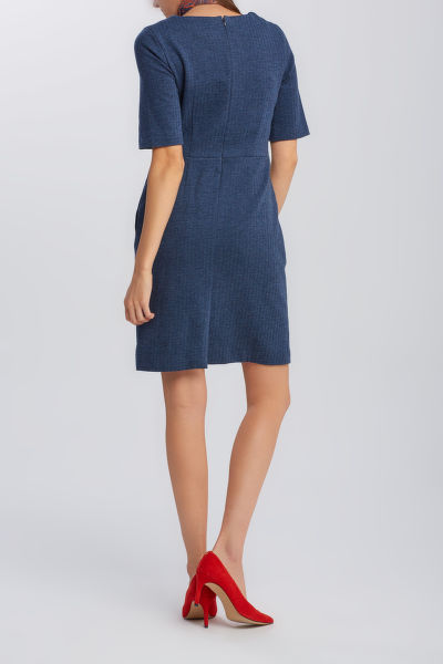 ŠATY GANT D1. HERRINGBONE JERSEY DRESS