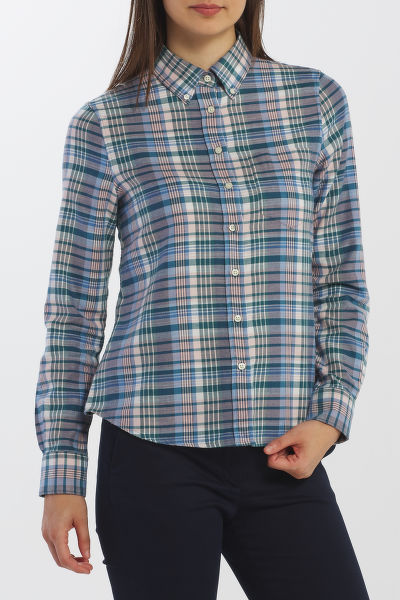 ING GANT D2. FADED WINTER TWILL CHECK SHIRT