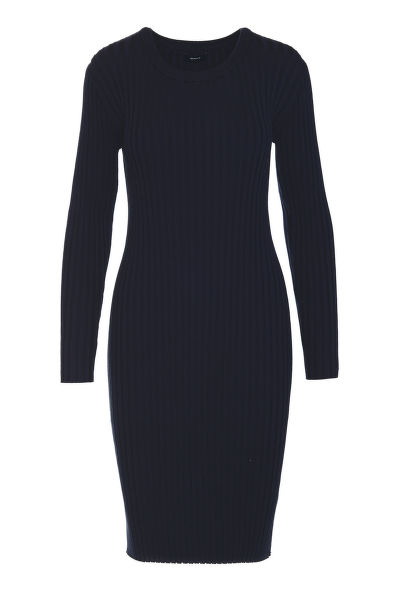 ?ATY GANT D1. RIB KNITTED DRESS