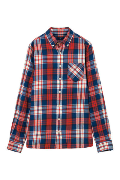 ING TB. FLANNEL CHECK SHIRT