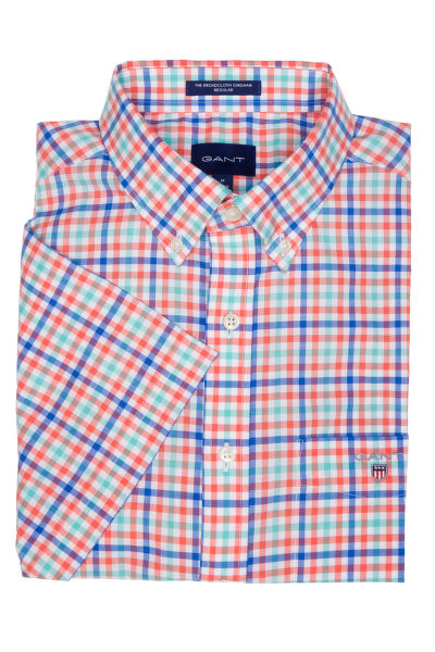 KOŠILE GANT THE B-CLOTH 3COL GINGHAM REG SS BD