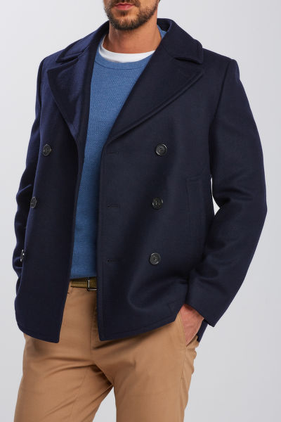 DZSEKI GANT D1. THE WOOL PEACOAT