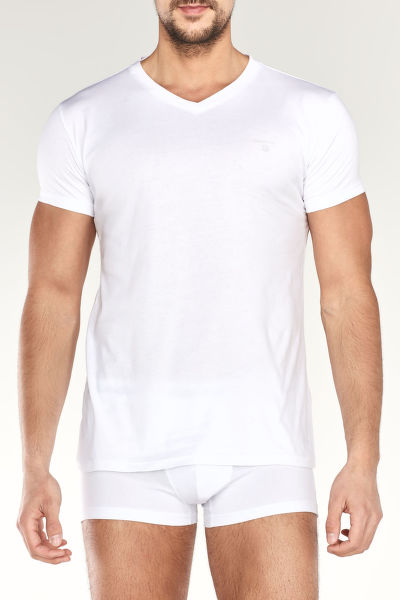 Alsónemű  BASIC 2-PACK V-NECK T-SHIRT