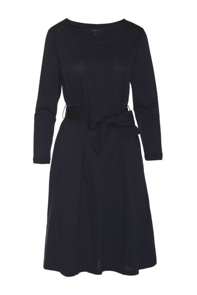 ?ATY GANT D1. BELTED JERSEY DRESS