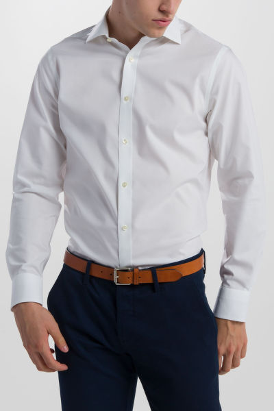 ING GANT O1. AM COTTON BROADCL SLIM SPREAD