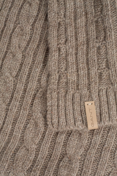 GANT O2. CABLE KNIT SCARF