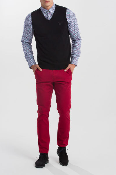 SVETR GANT LT. WEIGHT COTTON SLIPOVER