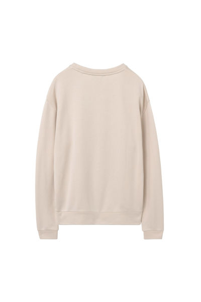 MIKINA GANT O2. PRINTED EMB C-NECK SWEAT