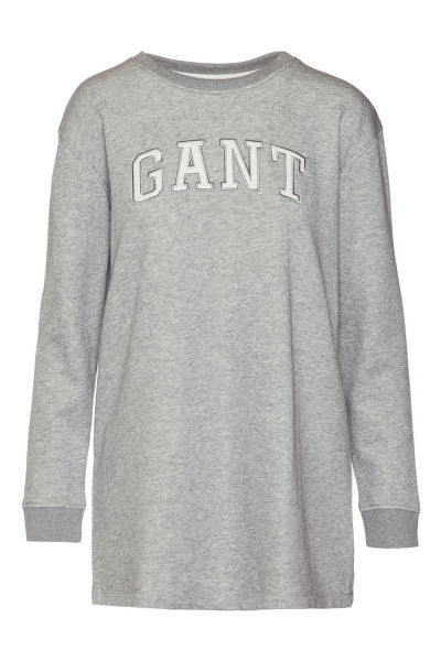 MIKINA GANT O1. LOGO SWEAT DRESS