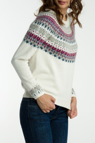 Svetr GANT O2. COTTON WOOL FAIRILSE CREW
