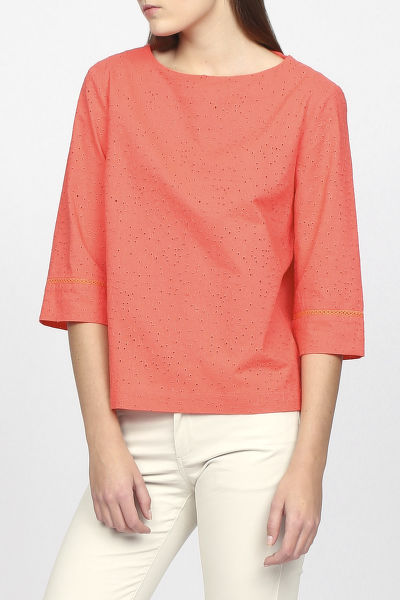 Ing GANT O2. BRODERIE ANGLAISE TOP