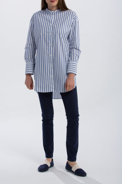 KOŠILE GANT O1. TP CLUB STRIPE LONG SHIRT