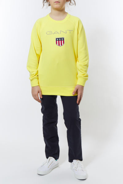 MIKINA GANT D1. GANT SHIELD LOGO SWEAT C-NECK