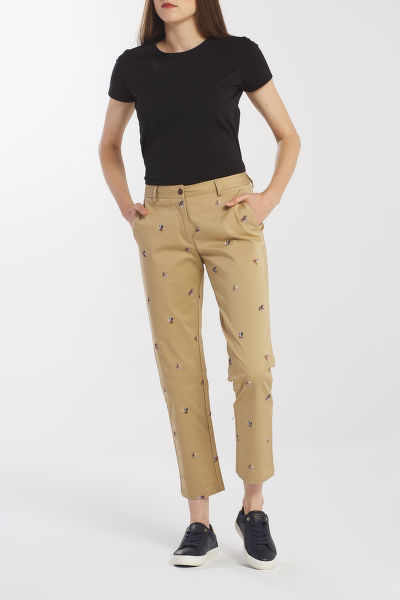 NADRÁG GANT D1. EMBROIDERED CLASSIC CHINO