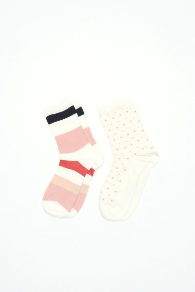 Zoknik GANT O1. 2-PACK MULTISTR/DOT SOCKS BOX