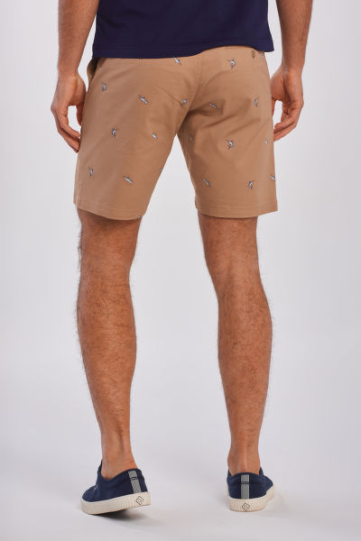 ŠORTKY GANT D2. TP REGULAR EMBROIDERY SHORT