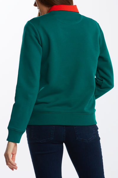 MIKINA GANT ARCHIVE SHIELD C-NECK SWEAT