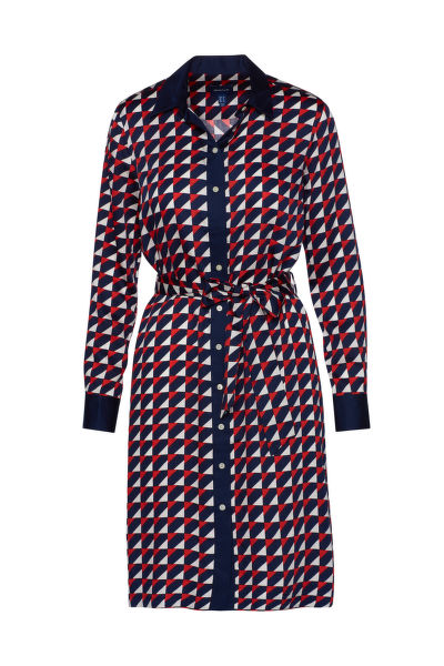 ŠATY GANT D1. GEO A-LINE SHIRT DRESS