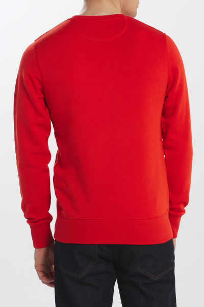 MIKINA GANT D1. GRAPHIC C-NECK SWEAT