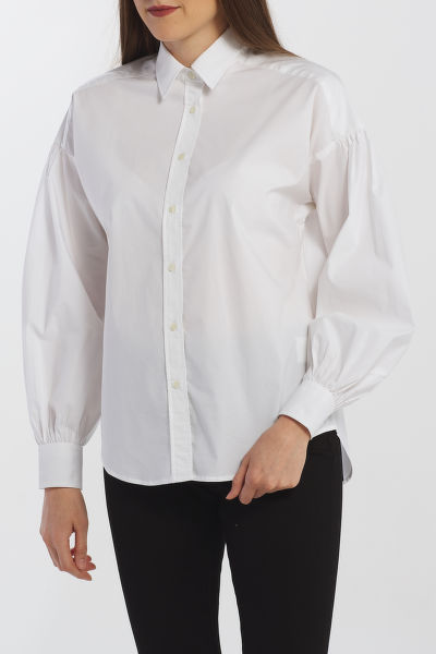 ING GANT D1. TP BROADCLOTH OVERSIZED SHIRT