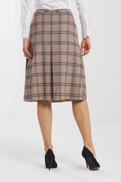 SUKN? GANT D1. WASHABLE STRETCH WOOL SKIRT