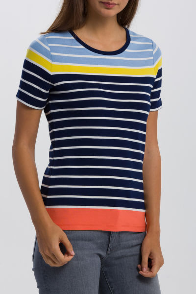 PÓLÓ GANT O2. MULTISTRIPED TOP