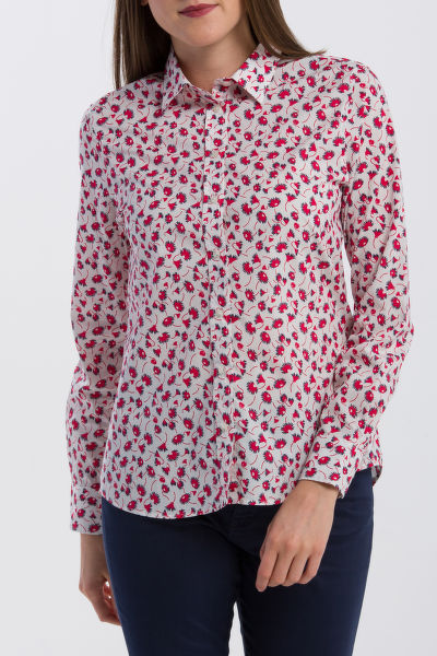 ING GANT O2. SMALL FLOWER VOILE SHIRT