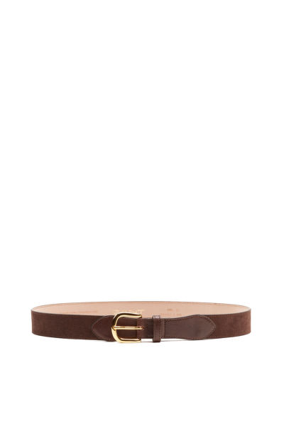 Öv GANT O2. SUEDE LEATHER BELT