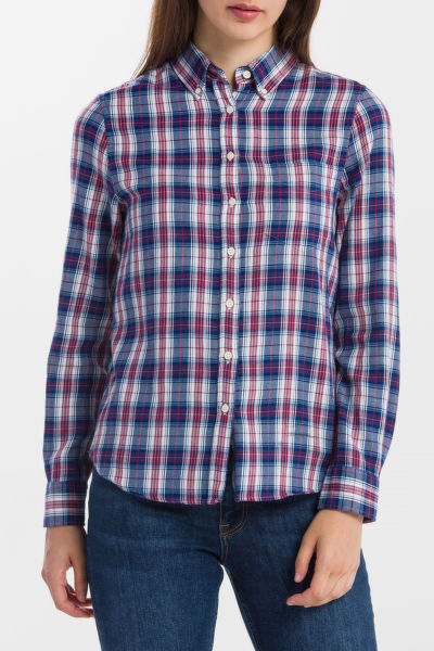 ING GANT R2. WINTER FLANNEL MADRAS SHIRT