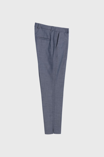 KALHOTY GANT D1. WASHABLE CHAMBRAY TAPERED PANT