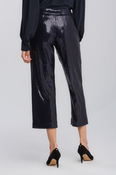 KALHOTY GANT D2. CROPPED SEQUIN PANT