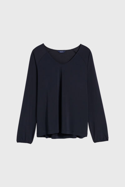 PÓLÓ GANT D1. V-NECK TOP