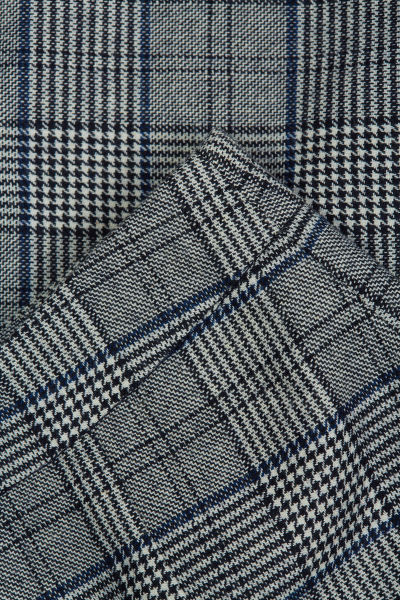 SUKN? GANT D1. CHECKED FLARE SKIRT