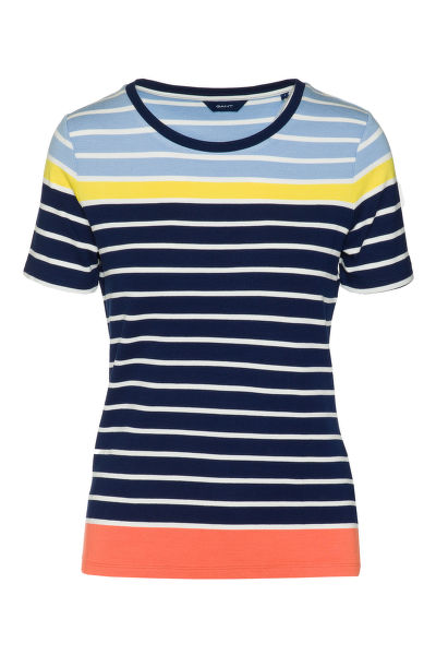 TRI?KO GANT O2. MULTISTRIPED TOP