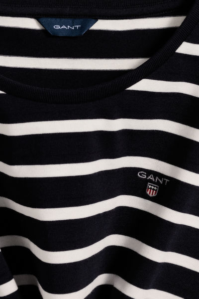ŠATY GANT TG BRETON STRIPED JERSEY DRESS