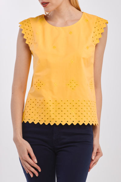 ING GANT D2. BRODERIE ANGLAISE TOP