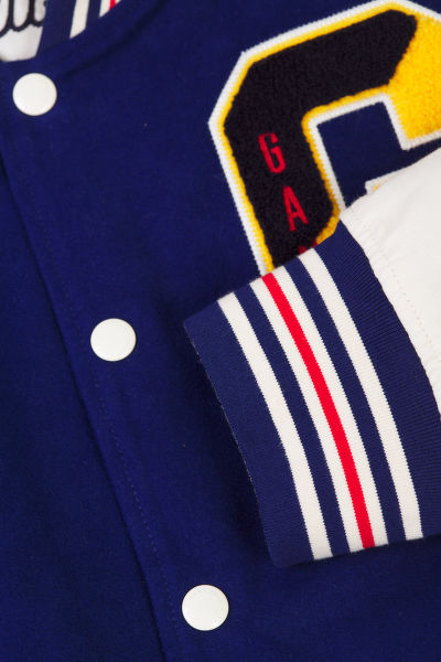 BUNDA GANT D1. THE GANT SPRING VARSITY JACKET