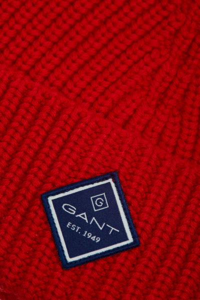 ?EPICE GANT D1. COTTON RIB KNIT HAT