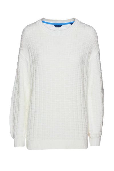 SVETR GANT D1. SIGNATURE TEXTURED C-NECK