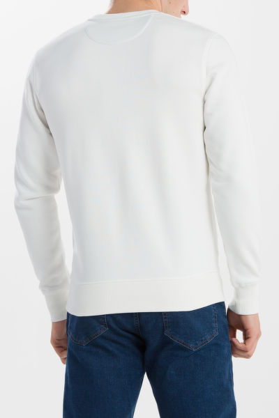 MIKINA GANT O1. GRAPHIC C-NECK SWEAT