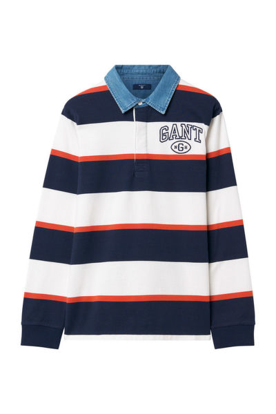 PÓLÓ TB. COLLEGIATE STRIPED HR