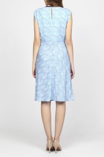 Šaty GANT G1. PRINTED FLARED DRESS