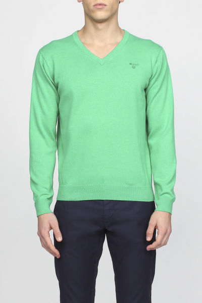 Kardigán GANT LT. WEIGHT COTTON V-NECK