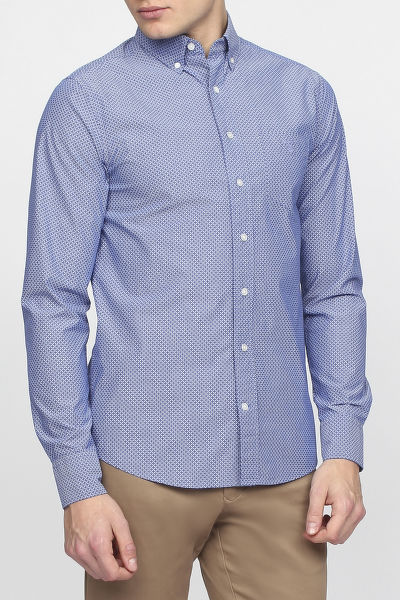 Ing GANT O1. THE BROADCLOTH DOT SLIM BD