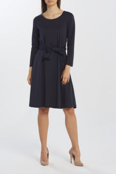 RUHA GANT D1. BELTED JERSEY DRESS