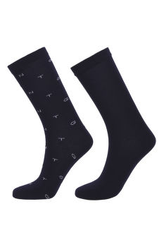 ZOKNI D1. 2-PACK GANT AND SOLID SOCKS