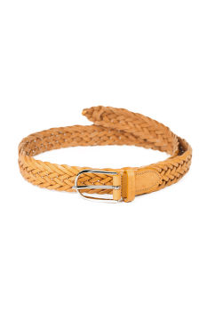 ÖV GANT D1. BRAIDED LEATHER WAIST BELT